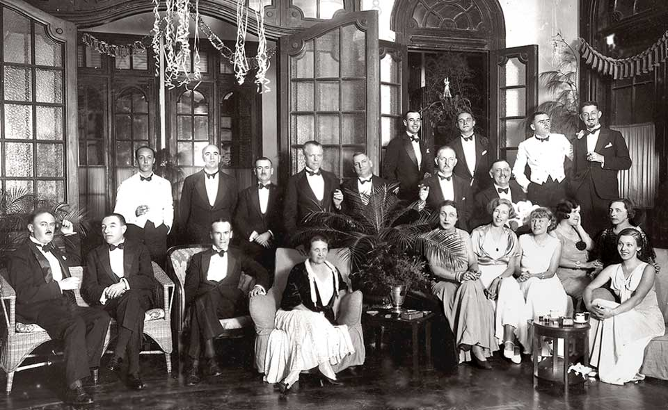 1934 Standard Oil Dinner Party, Haiphong